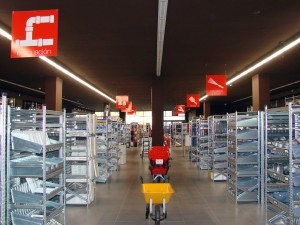 Interior de tienda